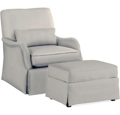 Adelyn Chair and Ottoman (1313-02)