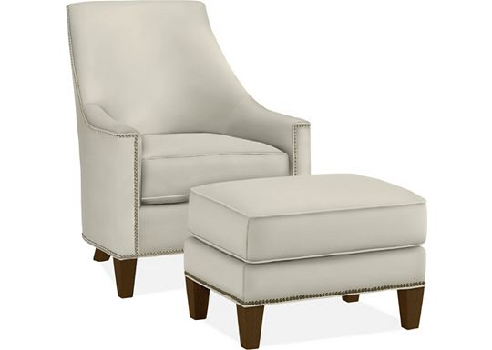 Adriana Chair and Ottoman (1313-02)