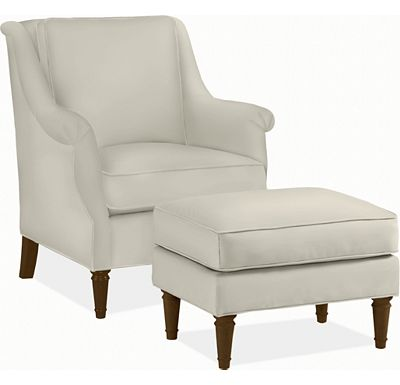 Sirrah Chair and Ottoman (1313-02)
