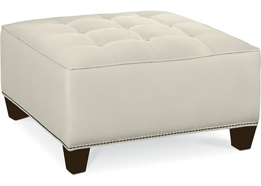 Brooklyn Square Button Top Ottoman (1313-02)