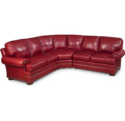 Leather Choices - Ashby Sectional (0624-85)