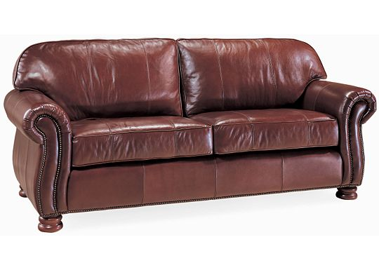QuickShip - Benjamin Sofa (Dropped Leather 0511-08)