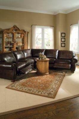 Thomasville Furnitureleather Choices Benjamin Motion
