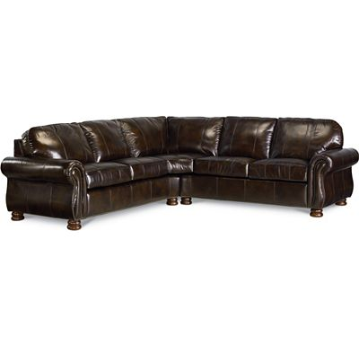 Leather Coices - Benjamin Sectional (0514-08)