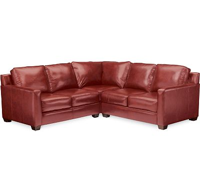 Leather Choices - Metro Sectional (0624-85)