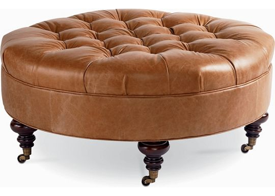 Leather Choices - Regatta Ottoman (0400-05)