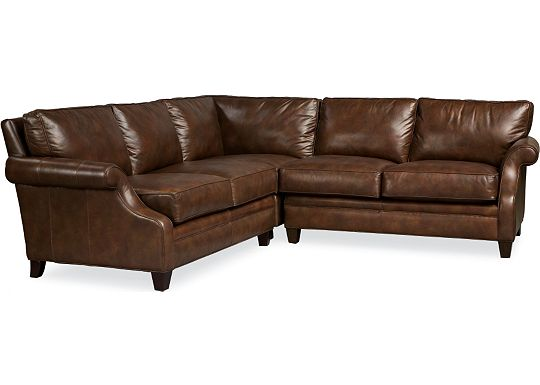 Leather Choices - Mercer Sectional (0514-08)