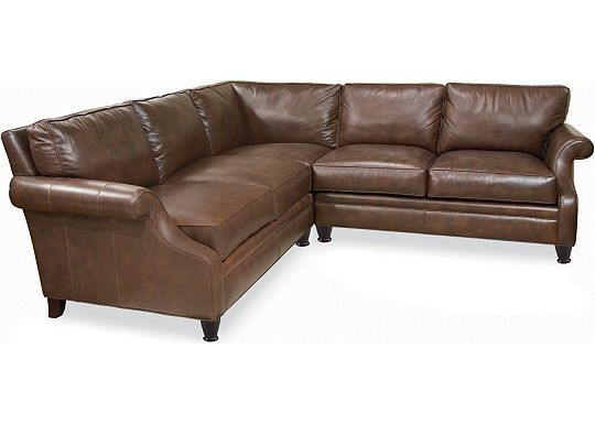 Leather Choices - Mercer Sectional (0518-05)