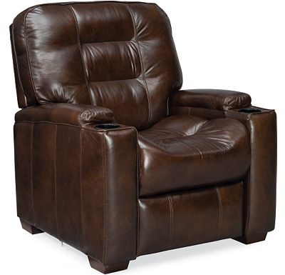 Leather Choices - Latham Media Recliner (0514-08)