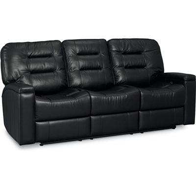 Leather Choices - Fatham Reclining Sofa (Motorized) (0511-10)