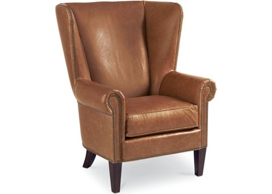 Leather Choices - Maynard Wing Chair (0400-05)