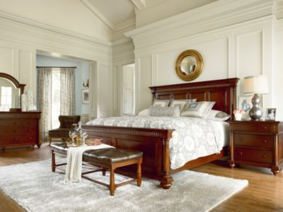 The Past With Renewed Fredericksburg Bedroom Furniture By Thomasville  Furniture
