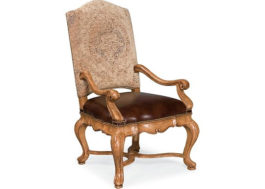 The Hills of Tuscany - Bibbiano Upholstered Arm Chair