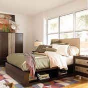Uhpolstered Headboard (Cal. King)