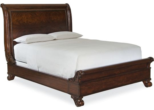 Brompton Hall - Sleigh Bed (Queen)
