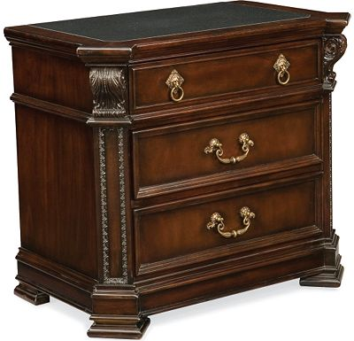 Brompton Hall - Night Stand (Granite top)