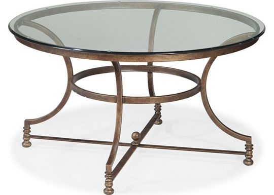 Vintage Chateau - Round Cocktail Table