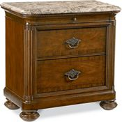 Nairobi Night Stand (Marble top)