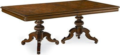 Castillian Double Pedestal Table