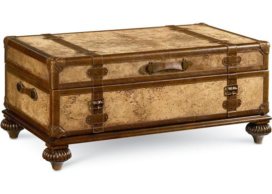 Hemingway - Traveler's Trunk Cocktail Table