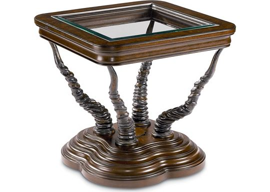 Hemingway - 1934 Trophy Horn Table