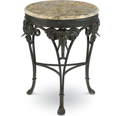 Hemingway - Elephant Accent Table
