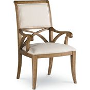 Pacific Upholstered Arm Chair