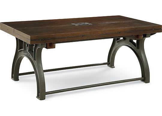 Reinventions - Boulton and Watt Flip Top Cocktail Table
