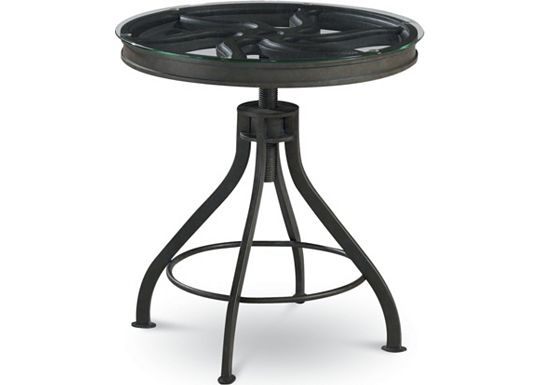 Reinventions - Pulley Side Table