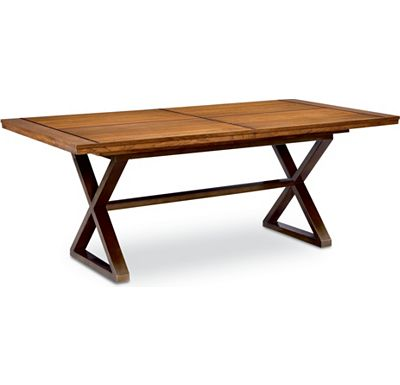 Modern Theory - Rectangular Double Pedestal Table