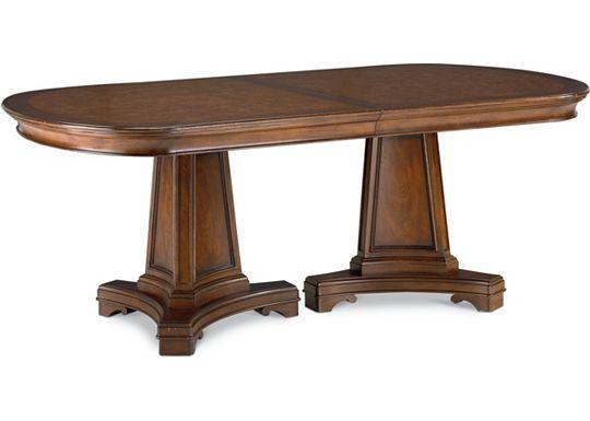 Deschanel - Double Pedestal Table
