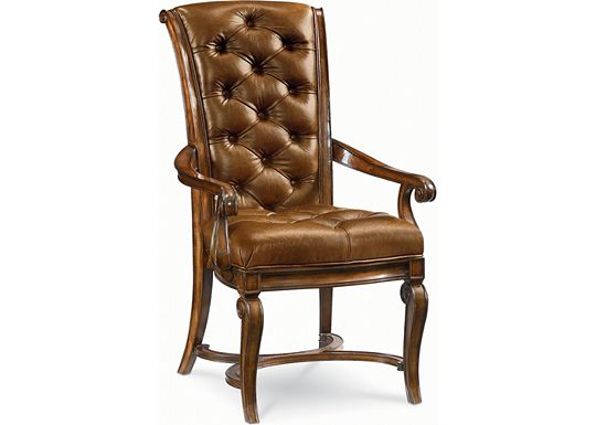 Deschanel - Leather Arm Chair