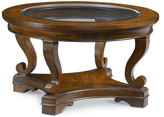 Deschanel - Round Cocktail Table