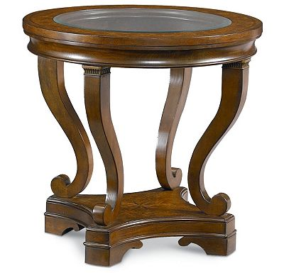 Deschanel - Round Lamp Table