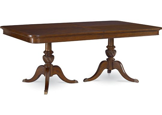 Tate Street - Double Pedestal Table