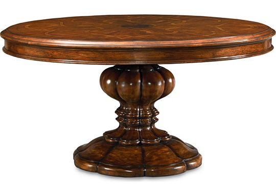 Cassara - Round Pedestal Table
