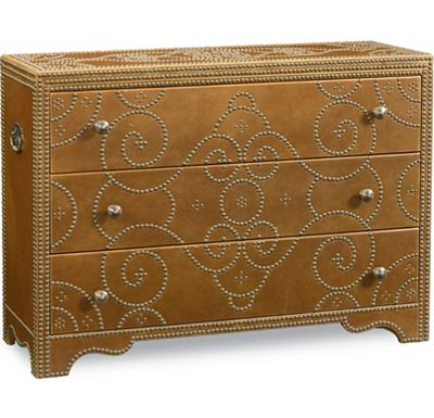 Cassara - Leather Accent Chest