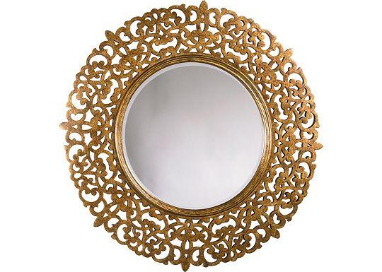 Cassara - Round Mirror
