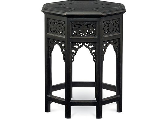 Cassara - Octagonal Lamp Table