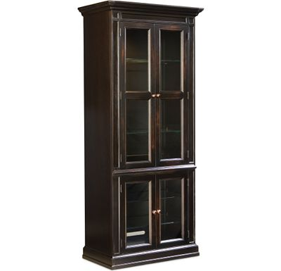 Multimedia - Glass Door Cabinet