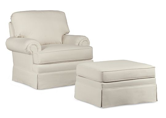 Rushmore Chair and Ottoman (1010-02)