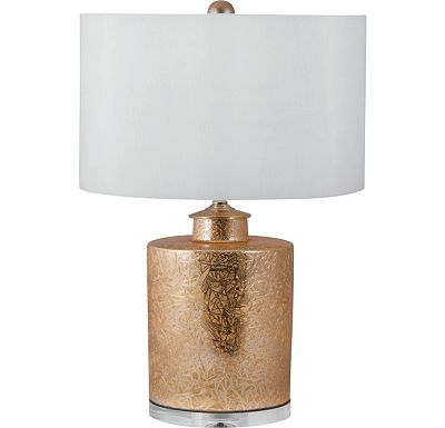 Accessories - Daniel - Glam Cylinder Porcelain Table Lamp