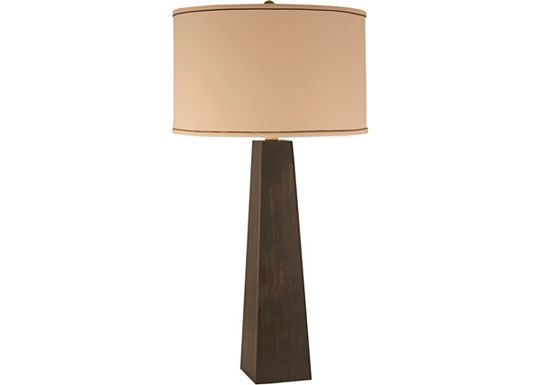 Accessories - Garrett - Ebony Finish Pyramid Table Lamp