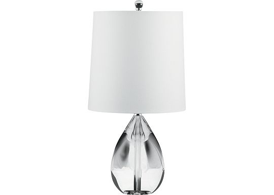 Accessories - Mia - Crystal Teardrop Table Lamp