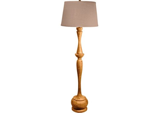 Accessories - Jocelyn - Acacia Floor Lamp