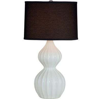 Accessories - Novalee - White Table Lamp