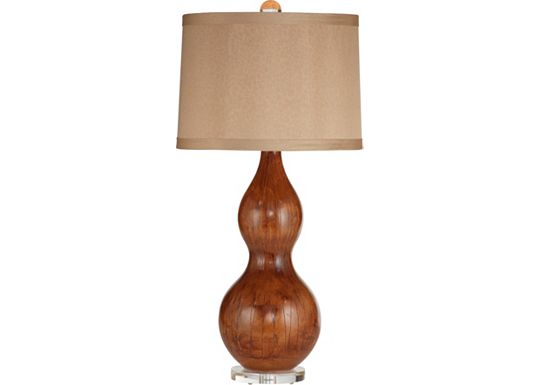 Accessories - Veanna - Dark Brown Table Lamp
