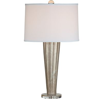 Accessories - Forster - Silver Table Lamp