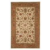 Prescott - Golden Beige/Rust/Gold Rug - 5'x8'