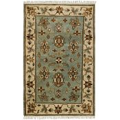 Twillson-Pale Jade/Brown/Pale Green Rug-5'6